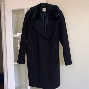 Jackets & Blazers - SIX CRISP DAYS WOOL CAR COAT